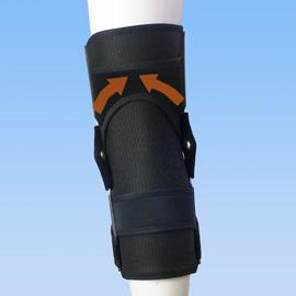 前十字靭帯損のスポーツ用膝サポーター|エクスエイドニーACL(背面)