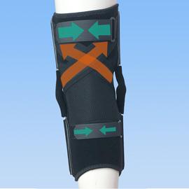 前十字靭帯損のスポーツ用膝サポーター|ニーケアー・ACL(背面)