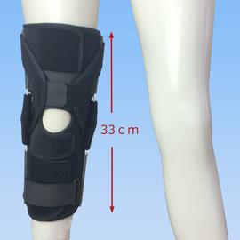 スポーツで動きやすい後十字靭帯損傷膝サポーター|エクスエイドニーPCL(正面)
