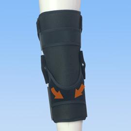 医療用の後十字靭帯損傷膝サポーター|エクスエイドニーPCL(背面)