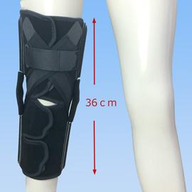医療用の後十字靭帯損傷膝サポーター|ニーケアー・PCL(正面)