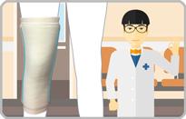 保温用の膝サポーター|ファシリエイドサポーター(ひざ保温)