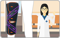 医療用の膝サポーター|ニーケアー・OA2